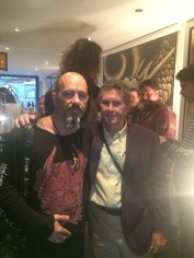 Mr. Ed Hardy and Mike the Athens @ 7doorstattoo opening night 2014